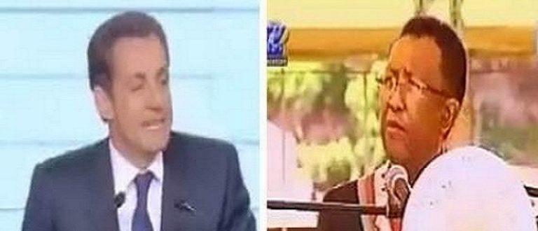 Article : Sarkozy «copié et pillé» par le nouveau président malgache