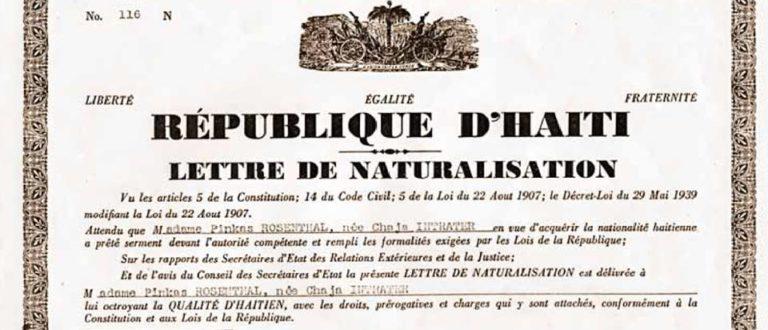 Article : Juifs : Une histoire haïtienne