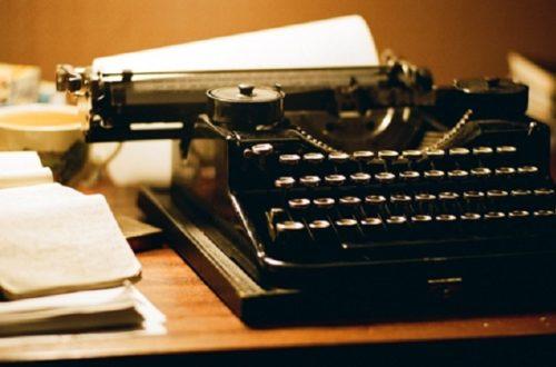 Article : Écrire, c'est presque toujours un exploit