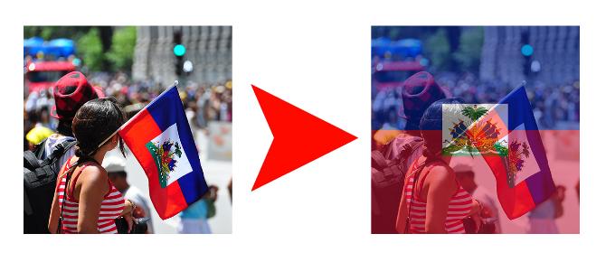 Voici comment changer votre photo de profil Facebook aux couleurs d'Haïti